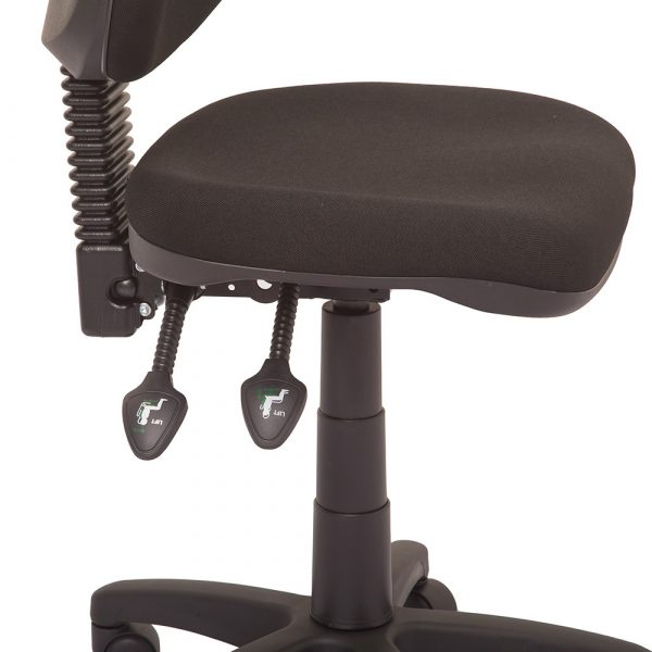 Commercial Grade High Back Operator Chair Details