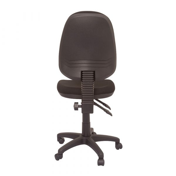 Commercial Grade High Back Operator Chair Charcoal