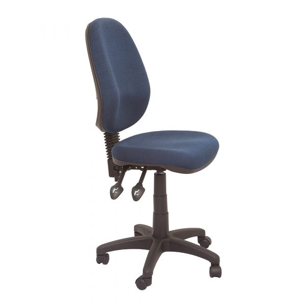 Commercial Grade High Back Operator Chair Navy