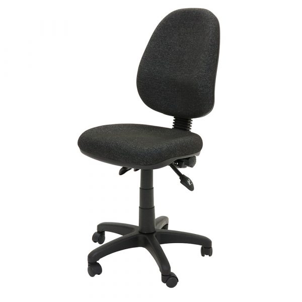 Commercial Grade High Back Ergonomic Operator Chair Charcoal