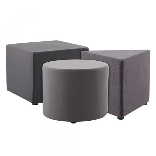 Collection of corporate ottomans