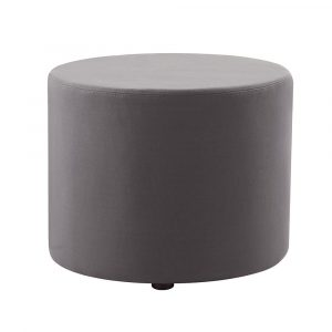 The Mars Round Ottoman is made with soft fabric upholstery and with a 5 year manufacturers warranty is both durable and comfortable.