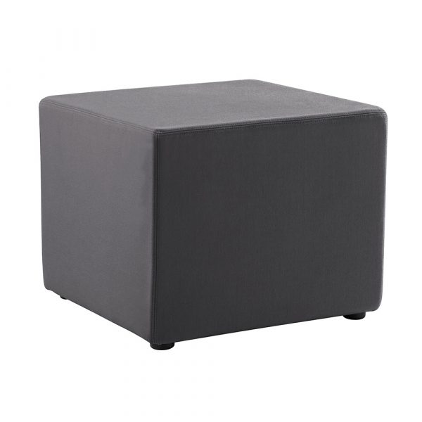 The Mars Square Ottoman is made with soft fabric upholstery and with a 5 year manufacturers warranty is both durable and comfortable.